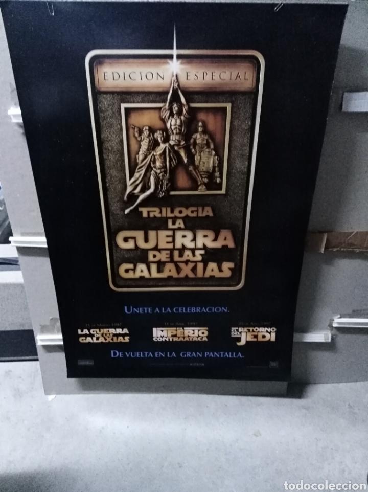 STAR WARS TRILOGIA POSTER ORIGINAL 70X100 EDICION ESPECIAL (Cine - Posters y Carteles - Ciencia Ficción)