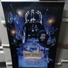 Cine: STAR WARS EL IMPERIO CONTRAATACA POSTER ORIGINAL 70X100 EDICION ESPECIAL. Lote 253981015