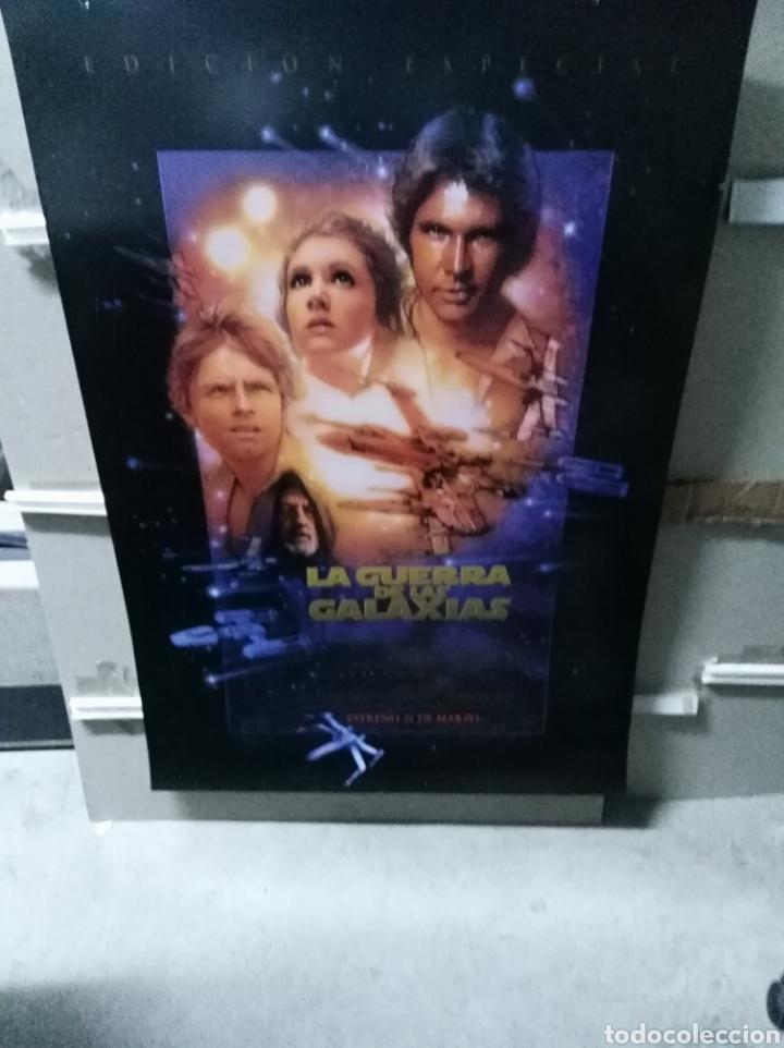 STAR WARS LA GUERRA DE LAS GALAXIAS POSTER ORIGINAL 70X100 EDICION ESPECIAL (Cine - Posters y Carteles - Ciencia Ficción)