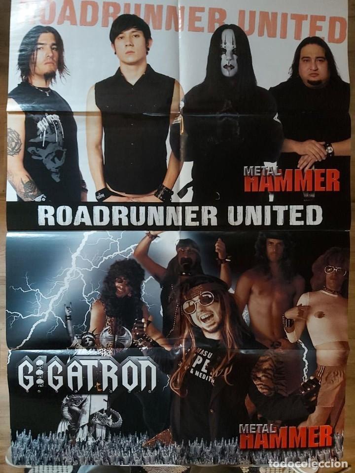 Cine: Poster Doble Motley Crue y Gigatron + Roadrunner united - METAL HAMMER - Foto 2 - 254033450