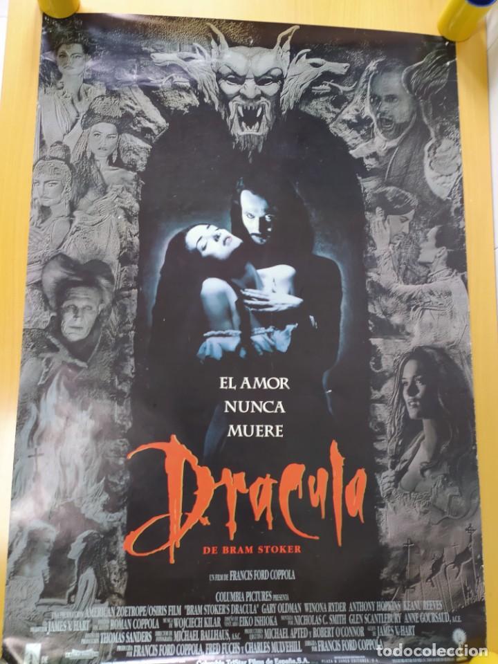POSTER DRACULA, FORD COPOLA. 88X61 CMS. (Cine - Posters y Carteles - Ciencia Ficción)