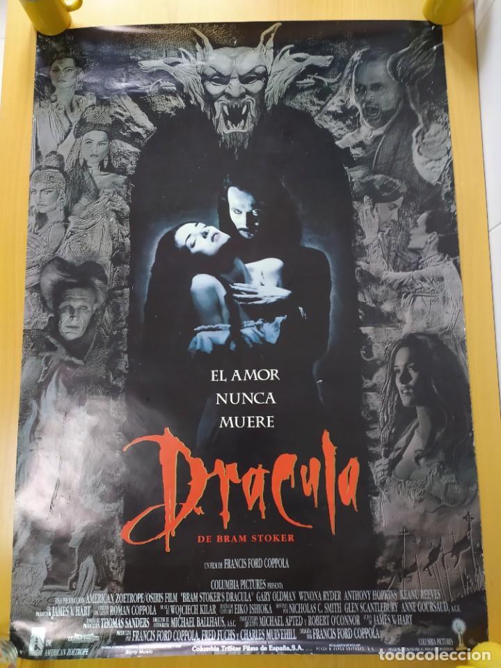 Cine: POSTER DRACULA, FORD COPOLA. 88X61 CMS. - Foto 2 - 254225575