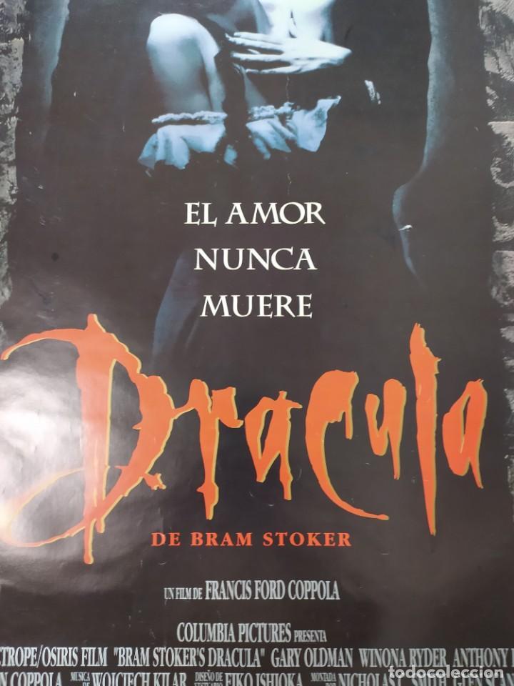 Cine: POSTER DRACULA, FORD COPOLA. 88X61 CMS. - Foto 3 - 254225575