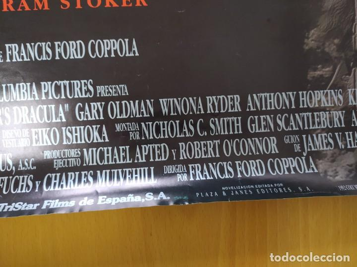 Cine: POSTER DRACULA, FORD COPOLA. 88X61 CMS. - Foto 9 - 254225575