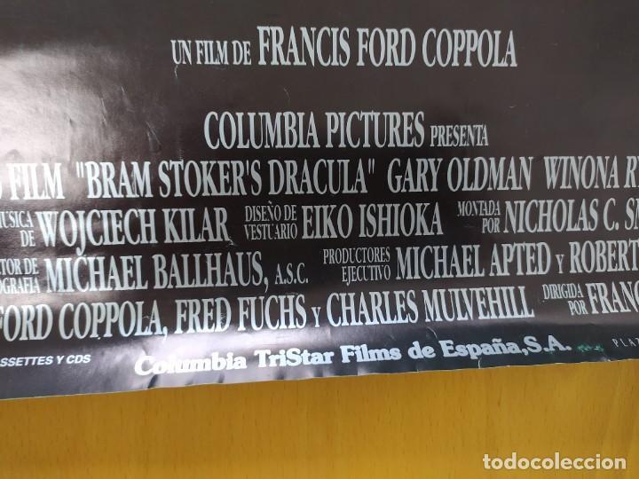 Cine: POSTER DRACULA, FORD COPOLA. 88X61 CMS. - Foto 10 - 254225575