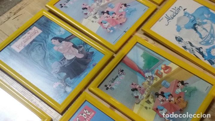 Cine: 9 pequeños cuadros de carteles de Disney enmarcados, sirenita,aladin, 101 dalmatas... - Foto 3 - 254408565