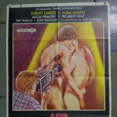 Cine: CDO 9992 LOS PORNOAFICIONADOS ELENA ALVAREZ ALICIA PRINCIPE SEXY EROTICO POSTER ORIG 70X100 ESTRENO. Lote 254507535