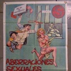 Cine: CDO K031 ABERRACIONES SEXUALES DE UN DIPUTADO JUSTO PASTOR SEXY EROTICO POSTER ORIG 70X100 ESTRENO. Lote 254531120
