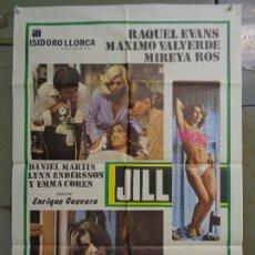 Cine: CDO K057 JILL RAQUEL EVANS MIREIA ROS ENRIQUE GUEVARA POSTER ORIGINAL 70X100 ESTRENO. Lote 254570065