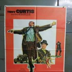 Cine: CDO K189 LEPKE TONY CURTIS POSTER ORIGINAL ESTRENO 70X100. Lote 254578220