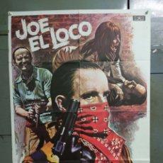 Cine: CDO K188 JOE EL LOCO PETER BOYLE MAC POSTER ORIGINAL 70X100 ESTRENO. Lote 254578430