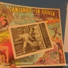 Cine: LOBY CARD CANTANDO BAJO LA LLUVIA ORIGINAL. Lote 254671605