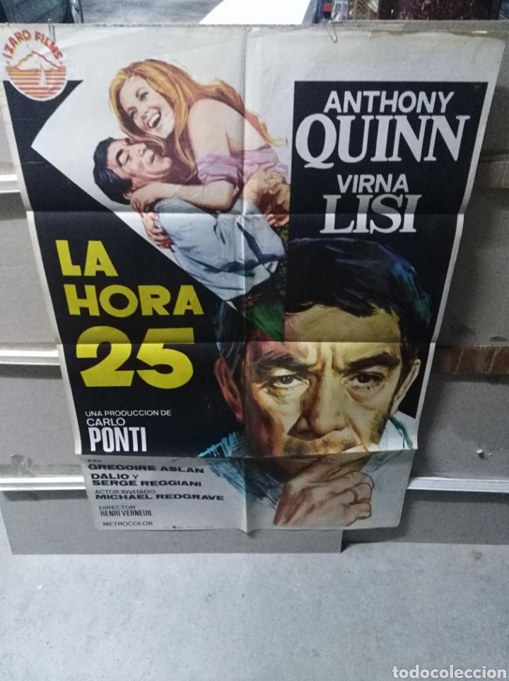 LA HORA 25 ANTHONY QUINN VIRNA LISI POSTER ORIGINAL 70X100 YY (2625) (Cine - Posters y Carteles - Bélicas)