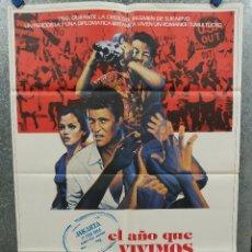 Cine: EL AÑO QUE VIVIMOS PELIGROSAMENTE. MEL GIBSON, SIGOURNEY WEAVER. AÑO 1983. POSTER ORIGINAL. Lote 254759270