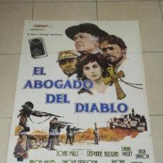Cine: POSTER / CARTEL DE CINE ORIGINAL. EL ABOGADO DEL DIABLO. JOHN MILLS. 100 X 70CM.. Lote 254819595