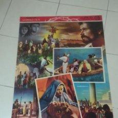 Cine: POSTER / CARTEL DE CINE ORIGINAL. RELIGION. EL HIJO DE HOMBRE. VIRGILIO SABEL. 100 X 70CM.. Lote 254820025