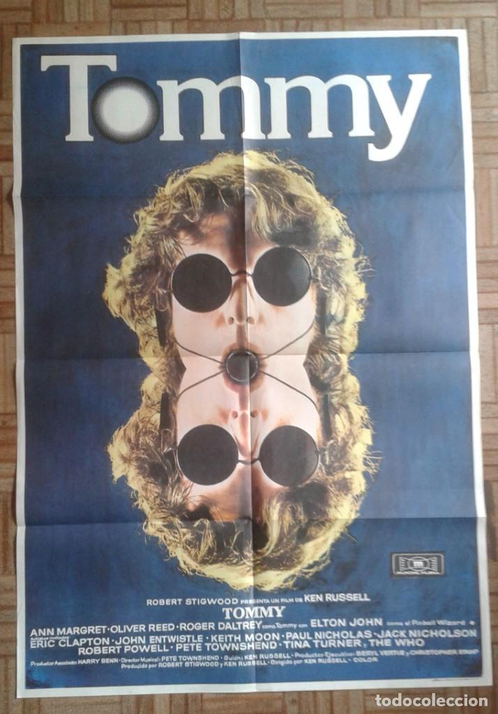 TOMMY. ÓPERA ROCK. ANN-MARGRET, OLIVER REED, ROGER DALTREY (THE WHO), ELTON JOHN (Cine - Posters y Carteles - Musicales)