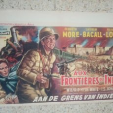Cine: CARTEL ORIGINAL BELGA LAUREN BACALL, KENNETH MORE. Lote 254923495