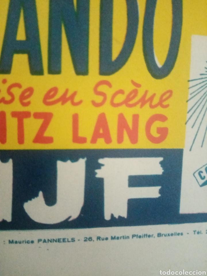 Cine: Cartel original belga the big heat, los sobornados, glenn ford, fritz lang - Foto 2 - 254930690