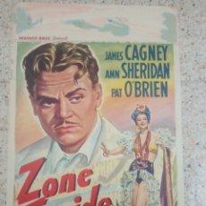 Cine: CARTEL ORIGINAL BELGA JAMES CAGNEY, ANN SHERIDAN. Lote 254939875