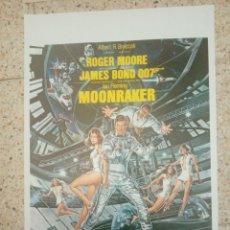 Cine: CARTEL ORIGINAL BELGA ROGER MOORE, JAMES BOND 007. Lote 254943415