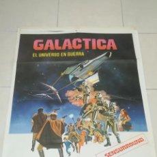 Cine: POSTER / CARTEL DE CINE ORIGINAL. GALACTICA. EL UNIVERSO EN GUERRA. 100 X 70CM.. Lote 254983950