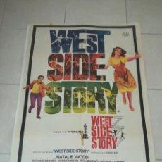 Cinema: POSTER / CARTEL DE CINE ORIGINAL. WEST SIDE STORY. NATALIE WOOD. 100 X 70CM.. Lote 254984500