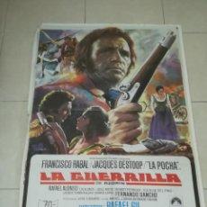 Cine: POSTER / CARTEL DE CINE ORIGINAL. LA GUERRILLA. FRANCISCO RABAL. 100 X 70CM.. Lote 254992530