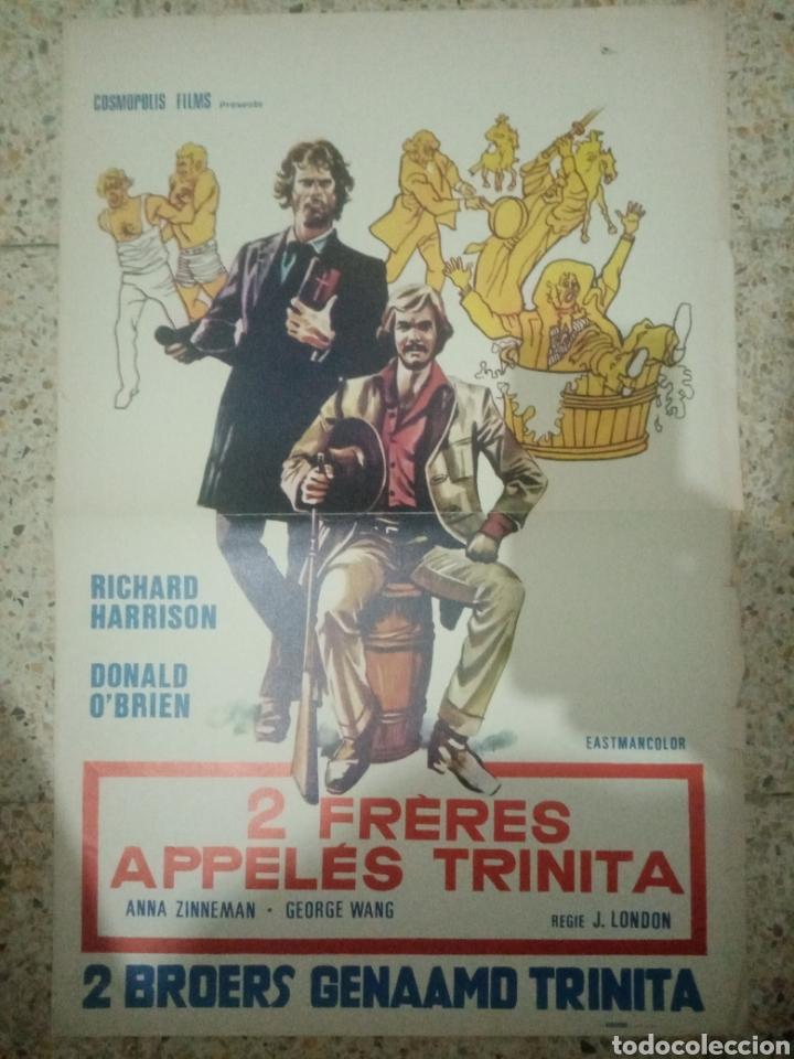 CARTEL ORIGINAL BELGA RICHARD HARRISON (Cine - Posters y Carteles - Aventura)