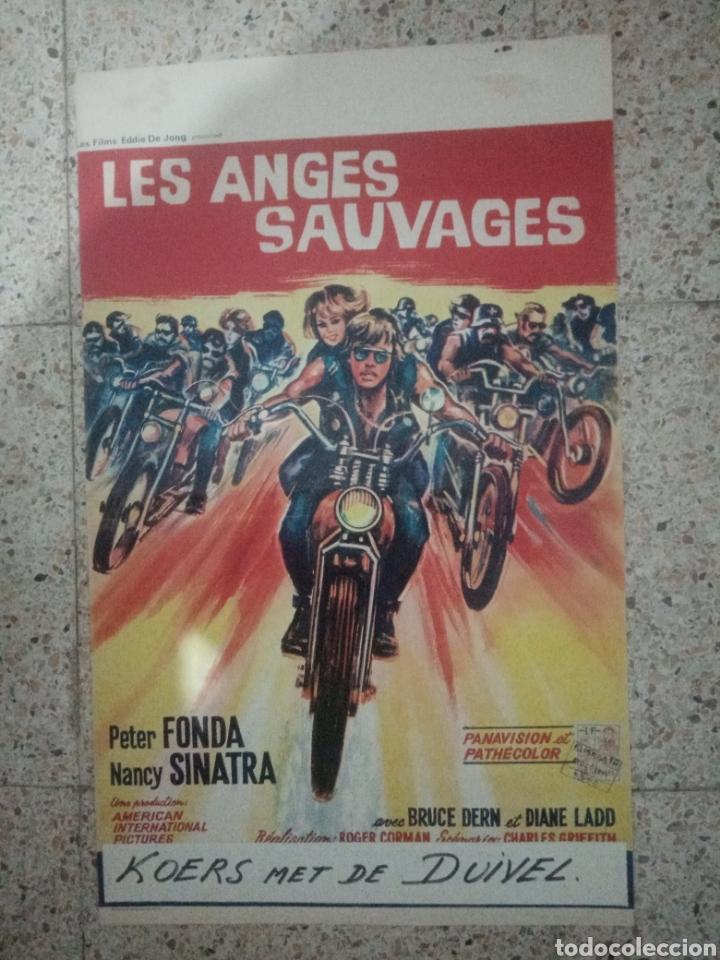 CARTEL ORIGINAL BELGA PETER FONDA, NANCY SINATRA (Cine - Posters y Carteles - Aventura)