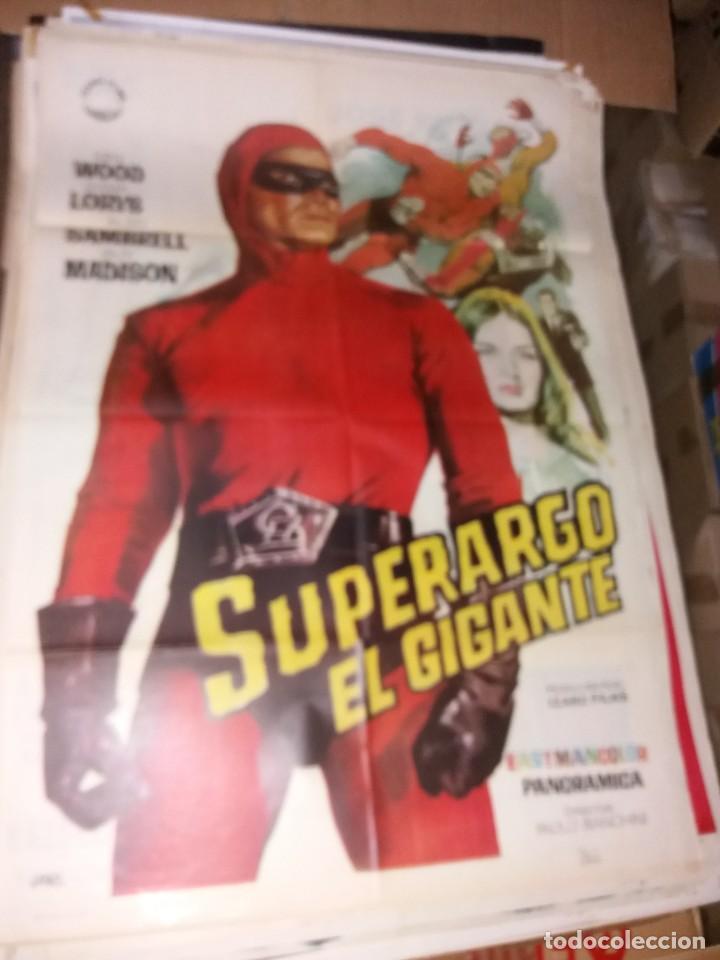 DIFÍCIL CARTEL DEL HOMBRE ENMASCARADO CON SU TITULO REAL (Cine - Posters y Carteles - Aventura)