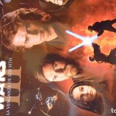 Cine: STAR WARS PÓSTER LA VENGANZA DE LOS SITH. INTACTO. 30 X 21 CM.. Lote 255375610