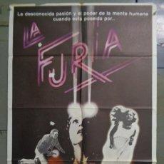 Cine: CDO K202 LA FURIA BRIAN DE PALMA KIRK DOUGLAS JOHN CASSAVETES POSTER ORIGINAL 70X100 ESTRENO. Lote 256160295