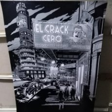 Cine: EL CRACK CERO JOSE LUIS GARCI CARLOS SANTOS MIGUEL NAVIA POSTER ORIGINAL 70X100. Lote 257289590