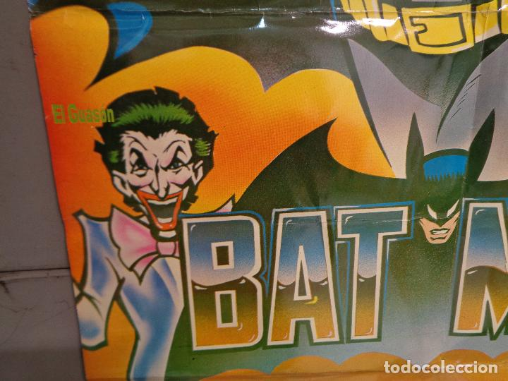 Cine: CDO K324 BATMAN ADAM WEST COMIC TV SERIES POSTER ORIGINAL MEJICANO 70X94 R-80S - Foto 4 - 257414025