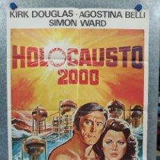 Cine: HOLOCAUSTO 2000. KIRK DOUGLAS, AGOSTINA BELLI, SIMON WARD. AÑO 1980. POSTER ORIGINAL. Lote 257418520