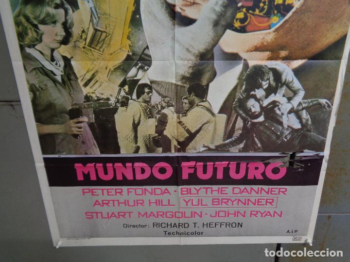 Cine: CDO K374 MUNDO FUTURO PETER FONDA CIENCIA FICCION POSTER ORIGINAL 70X100 ESTRENO - Foto 3 - 257463630