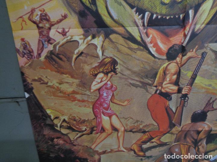 Cine: CDO K378 MISTERIO EN LA ISLA DE LOS MONSTRUOS JULIO VERNE PETER CUSHING POSTER ORIGINAL ESTRENO 70X1 - Foto 4 - 257470045