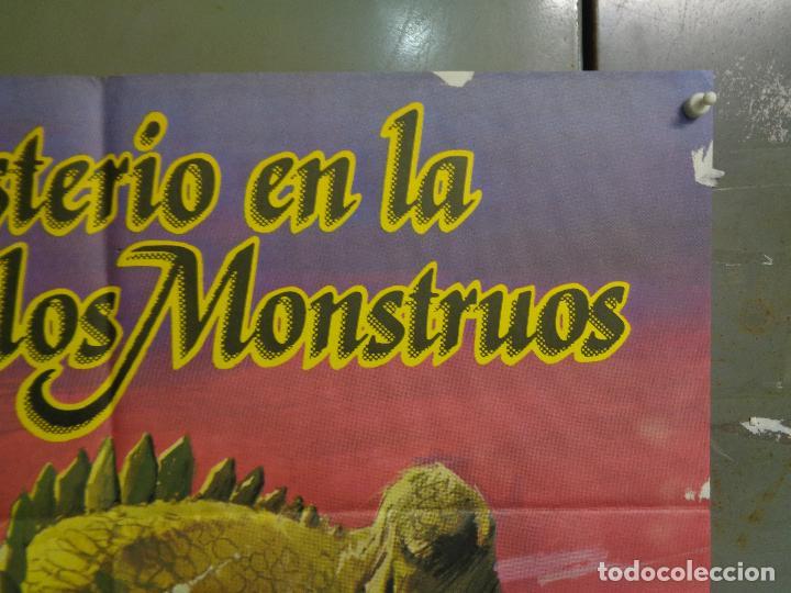 Cine: CDO K378 MISTERIO EN LA ISLA DE LOS MONSTRUOS JULIO VERNE PETER CUSHING POSTER ORIGINAL ESTRENO 70X1 - Foto 6 - 257470045