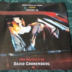 Cine: PÓSTER ESTRENO EN CINE PELÍCULA CRASH DE DAVID CRONENBERG. Lote 257609780