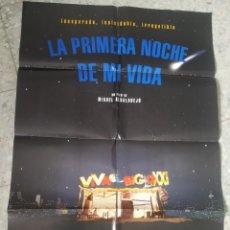 Cine: LA PRIMERA NOCHE DE MI VIDA. MIGUEL ALBADALEJO. C. FUENTES, LEONOR WATLING, MARIOLA FUENTES. 96 X 68. Lote 257970365