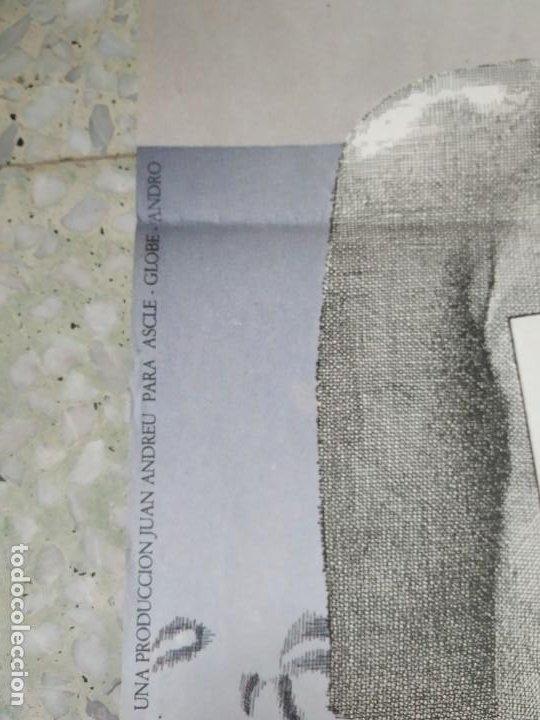 Cine: Con el culo al aire. Carles Mira, Ovidi Montllor, Eva León. 97 x 66,5 cm. - Foto 6 - 257971965