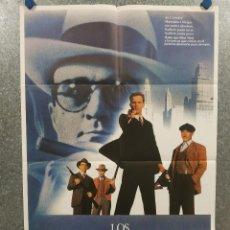 Cine: LOS INTOCABLES DE ELLIOT NESS. KEVIN COSTNER SEAN CONNERY, ROBERT DE NIRO AÑO 1971. POSTER ORIGINAL. Lote 258577605