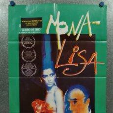 Cine: MONA LISA. BOB HOSKINS, MICHAEL CAINE, CATHY TYSON. AÑO 1986. POSTER ORIGINAL. Lote 258765135