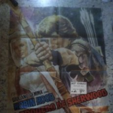 Cine: EL ARQUERO DE SHERWOOD GIULIANO GEMMA MARK DAMON MAC POSTER ORIGINAL 70X100 ESTRENO. Lote 258800365