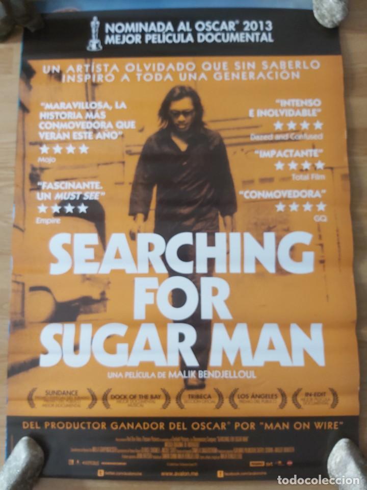 SEARCHING FOR SUGAR MAN - APROX 70X100 CARTEL ORIGINAL CINE (L85) (Cine - Posters y Carteles - Documentales)