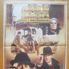 Cine: CARTEL CINE ERASE UNA VEZ EN AMERICA PARTE II ROBERT DE NIRO ARNON MILCHAN 1984 RAMON C1979. Lote 259822925