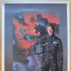 Cine: CARTEL CINE FIREFOX CLINT EASTWOOD 1982 C1986. Lote 259830500