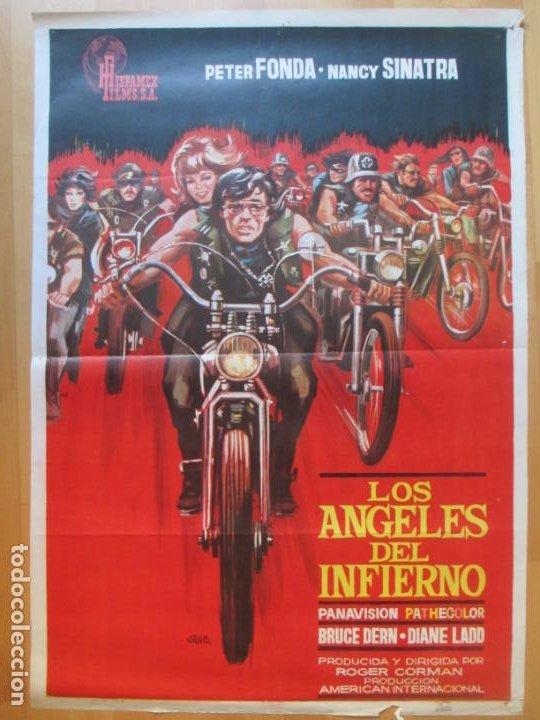 CARTEL CINE LOS ANGELES DEL INFIERNO PETER FONDA NANCY SINATRA 1967 JANO C1990 (Cine - Posters y Carteles - Acción)
