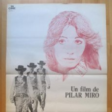 Cine: CARTEL CINE GARY COOPER, QUE ESTAS EN LOS CIELOS... PILAR MIRO 1980 ZEN C1991. Lote 259833575